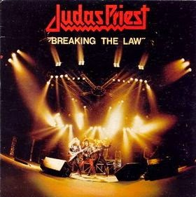 Judas Priest - Breaking The Law - single - cover
