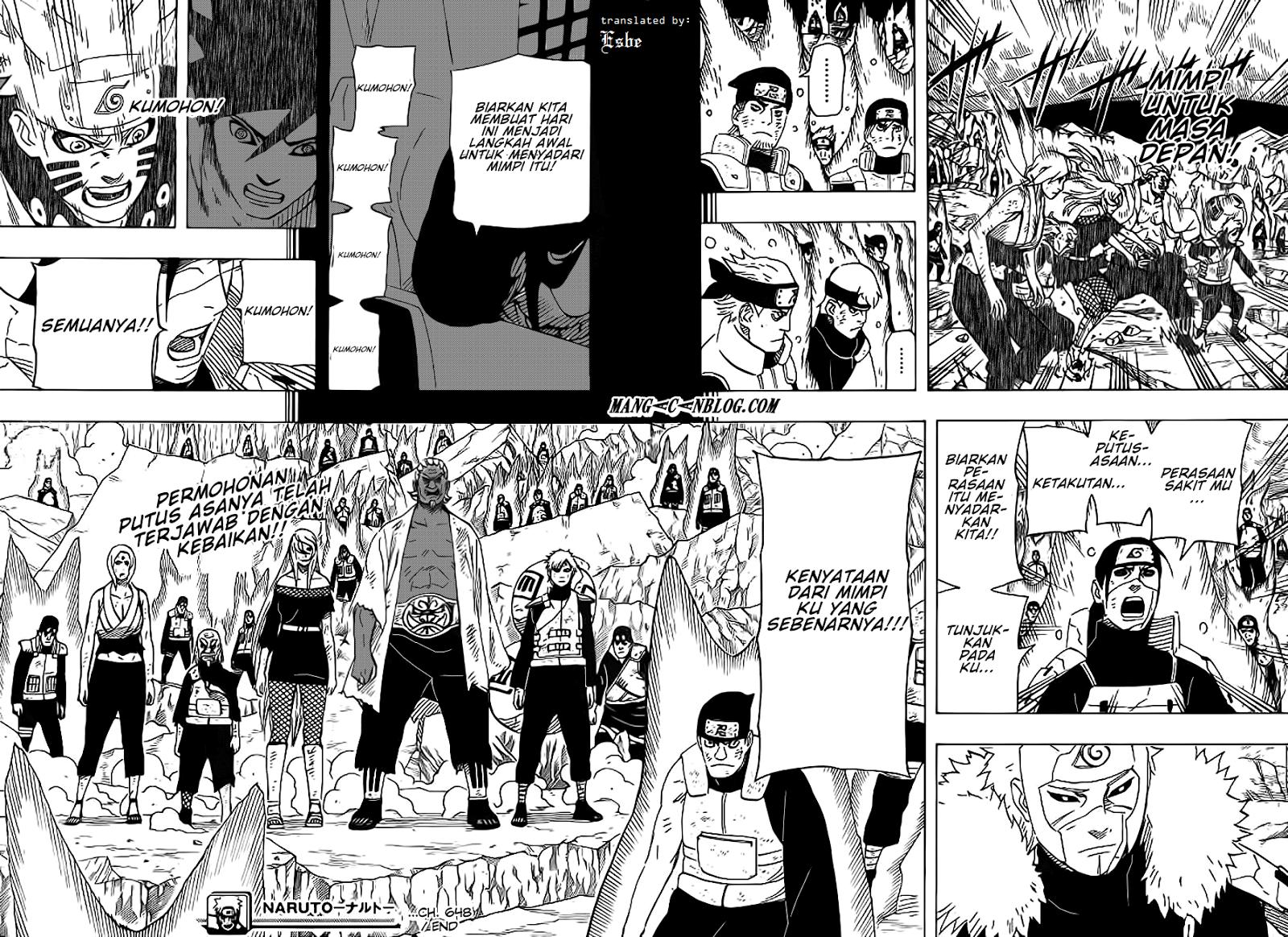 Komik naruto 648 - impian seorang shinobi 649 Indonesia naruto 648 - impian seorang shinobi Terbaru 12|Baca Manga Komik Indonesia|Mangacan