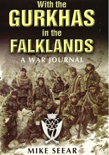 With the Gurkhas in the Falklands -  A War Journal - Mike Seear