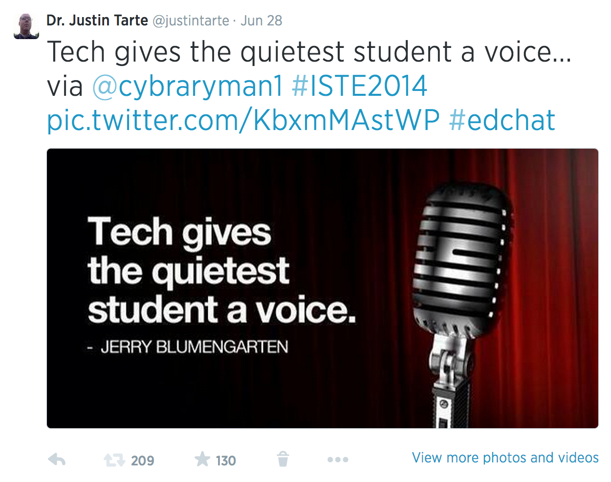 20 thoughts from #iste2014