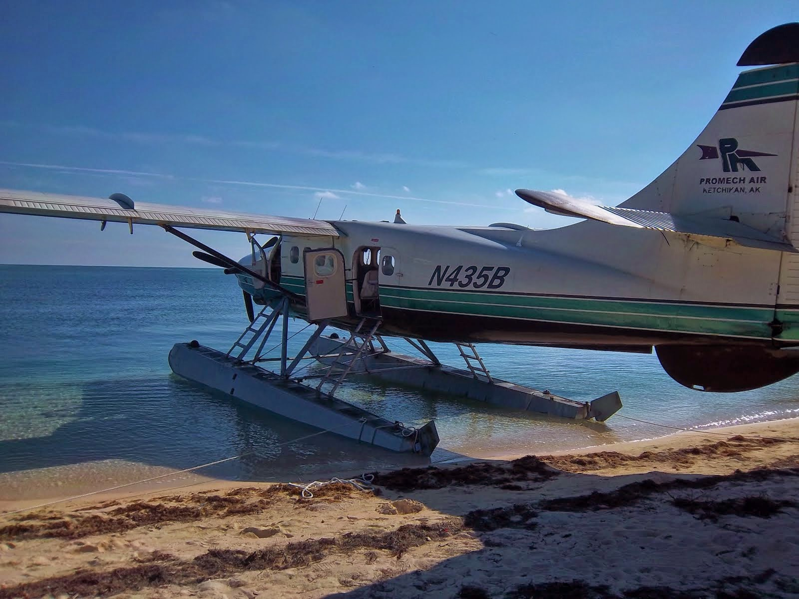 Seaplane to Fort Jefferson