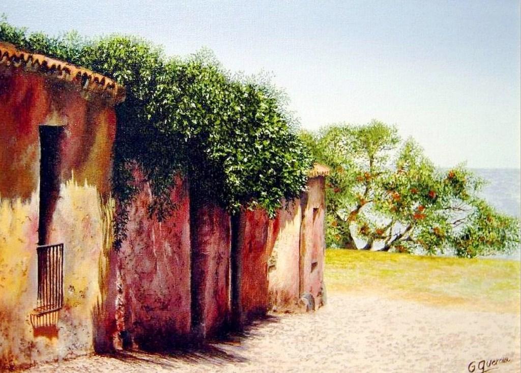 Cuadros pinturas oleos pinturas decorativas de paisajes - Cuadros de acrilico ...