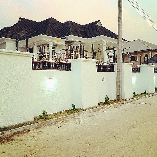 Photos: Timaya Shows Off His New Mansion