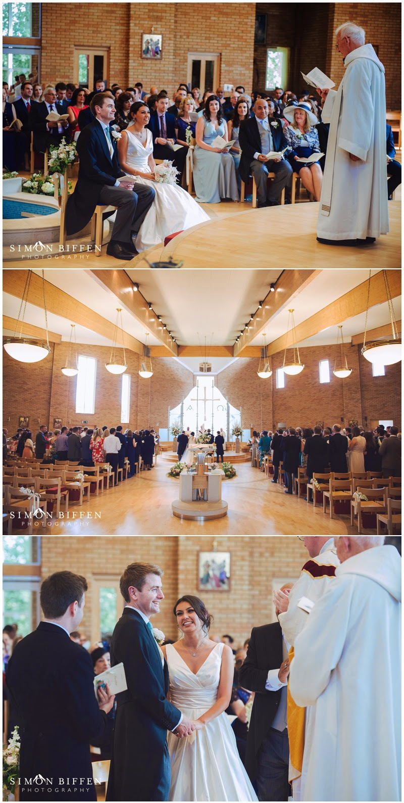 St Josephs church wedding, Epsom