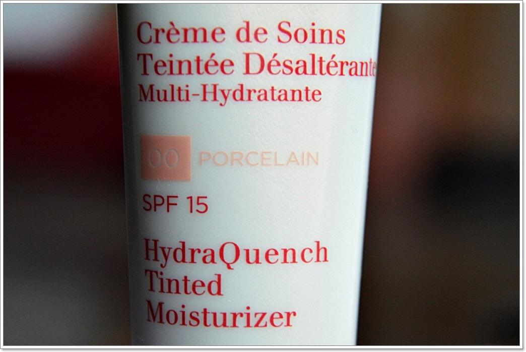 E_katerina: Увлажняющий крем с тоном Clarins Hydra Quench Tinted Moisturizer SPF15 #00 Porcelain