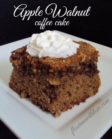 Apple Walnut Coffee Cake Calories