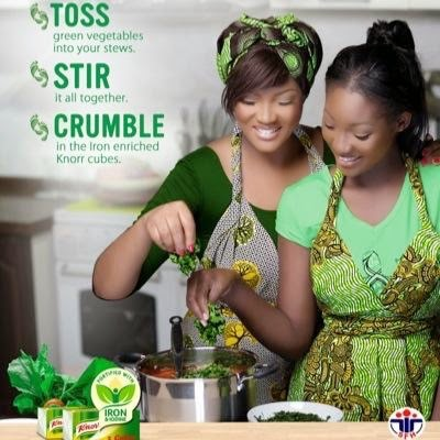 Omotola Jalade and Daughter Meraiah Shoot New Ad Togrther!