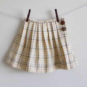 tutorial falda plisada niña
