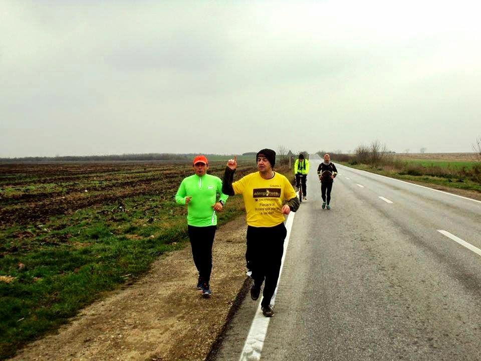 Olimpiu Porumb, după primul ultramaraton de 60 km pe traseul Reşiţa - Timişoara
