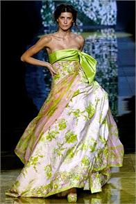 robe de soirée princesse elie saab les plus belles robes vertes
