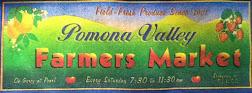 Pomona's Farmers Market 7:30-11:30