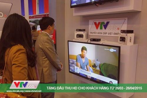 Khuyến mại VTVcab HD