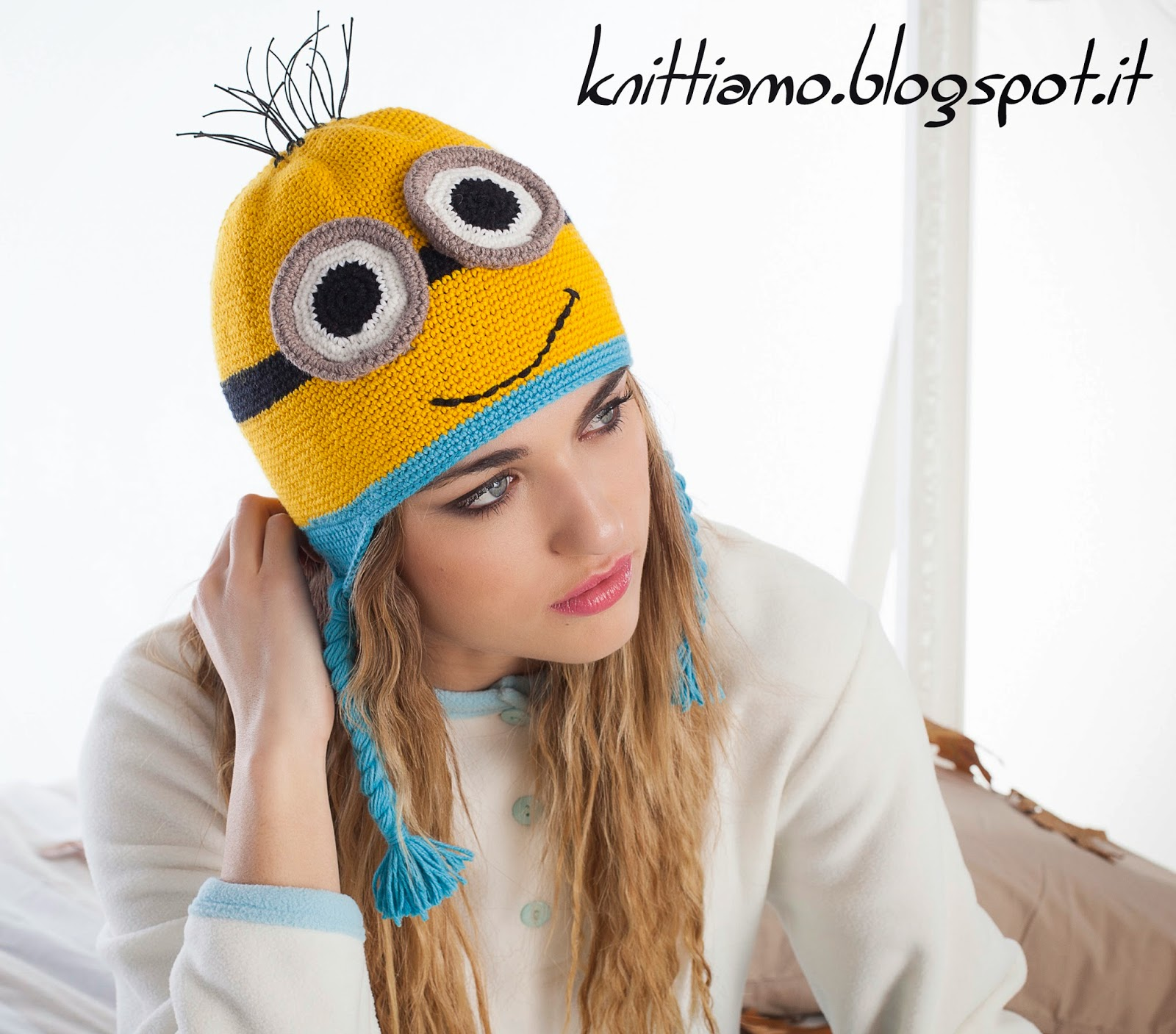 Knittiamo Con Martina E Roberta Cappello Minion A Crochet