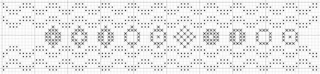 border free cross stitch pattern