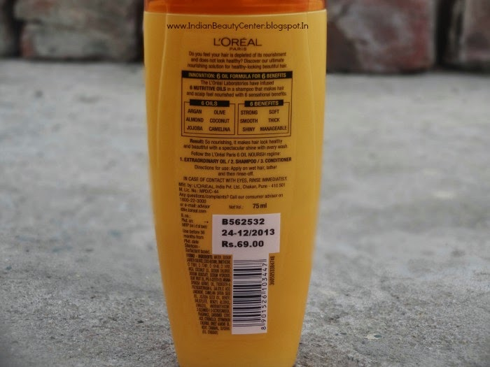 L'Oreal Paris 6 Oil-nourish Shampoo Review