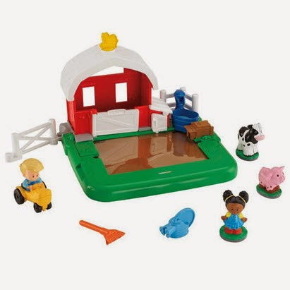 Amazon: Buy Fisher-Price Little People Apptivity Barnyard at Rs.999 only