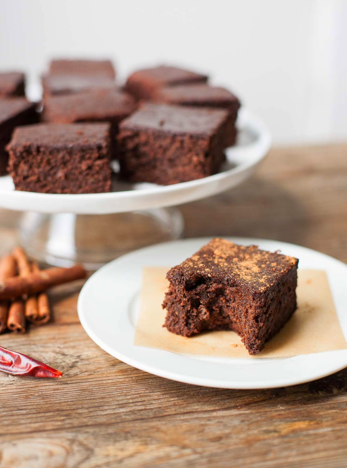 Mexican Almond Pulp Brownies | acalculatedwhisk.com