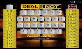 Deal or Not v.1.22 Download