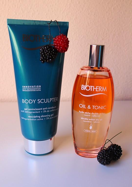 Body Sculpter y Oil & Tonic de Biotherm