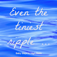 Even the tiniest ripple: how can we help?