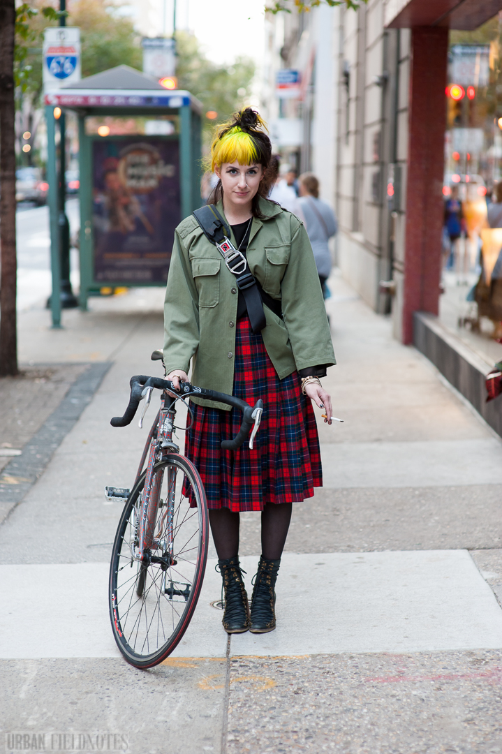 Urban Fieldnotes Philadelphia Street Style Katie Walnut St