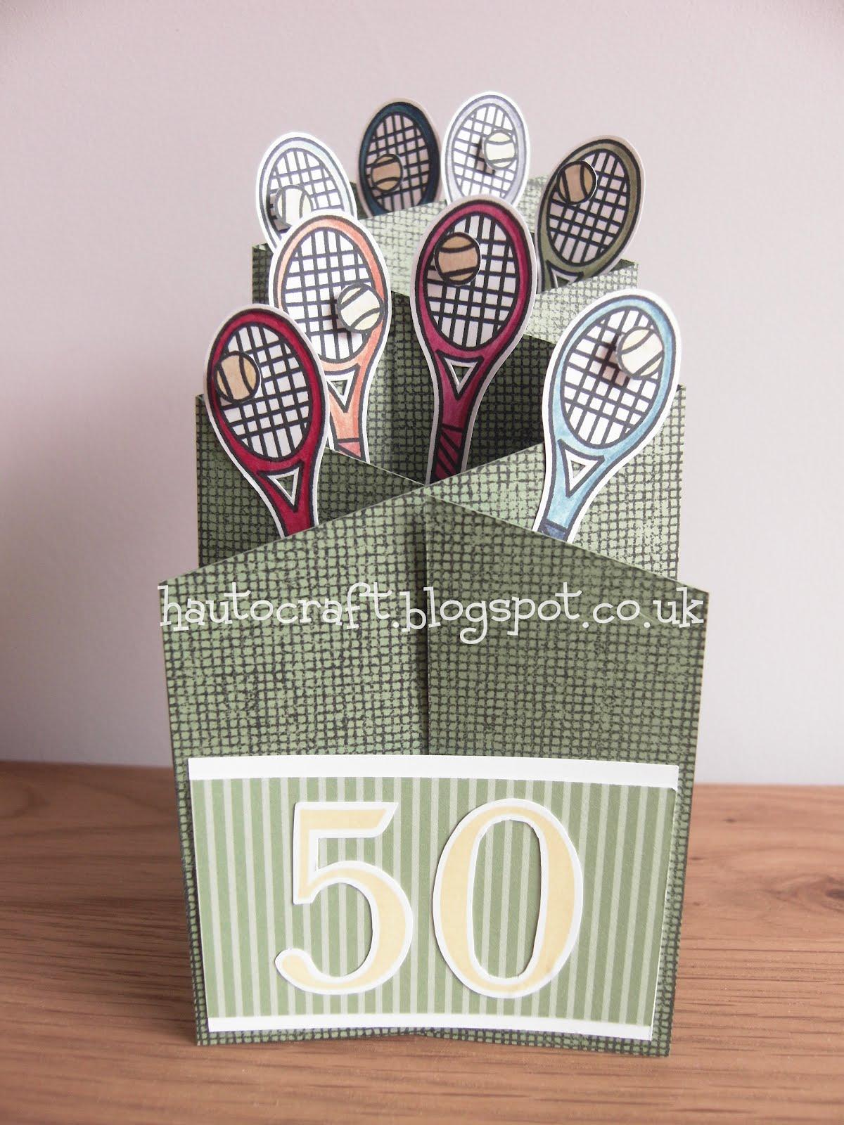 Hau to craft cascade card 50th birthday cascade card 50th birthday m4hsunfo
