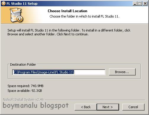 folder install fl studio