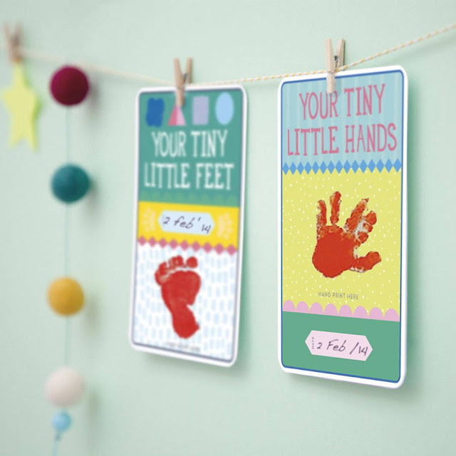 GOODIES - Baby Milestone Cards