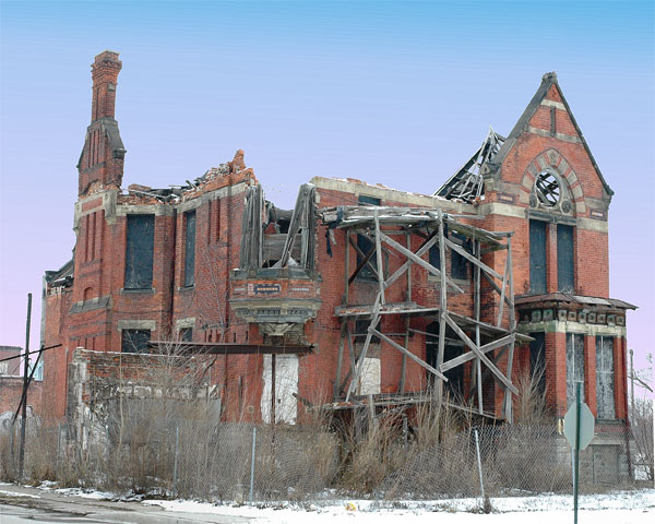 Lost and found mansions of detroit 1889 victorian house for What does nicole curtis house look like