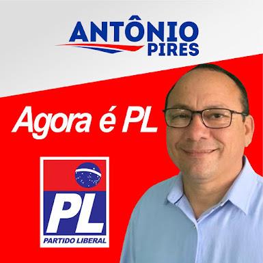 ANTÔNIO PIRES AGORA É PL - 22