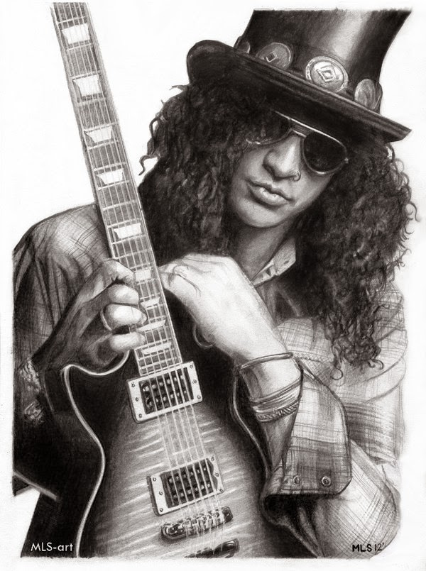 21-Slash-Martin-Lynch-Smith-MLS-art-Celebrity-Drawings-www-designstack-co