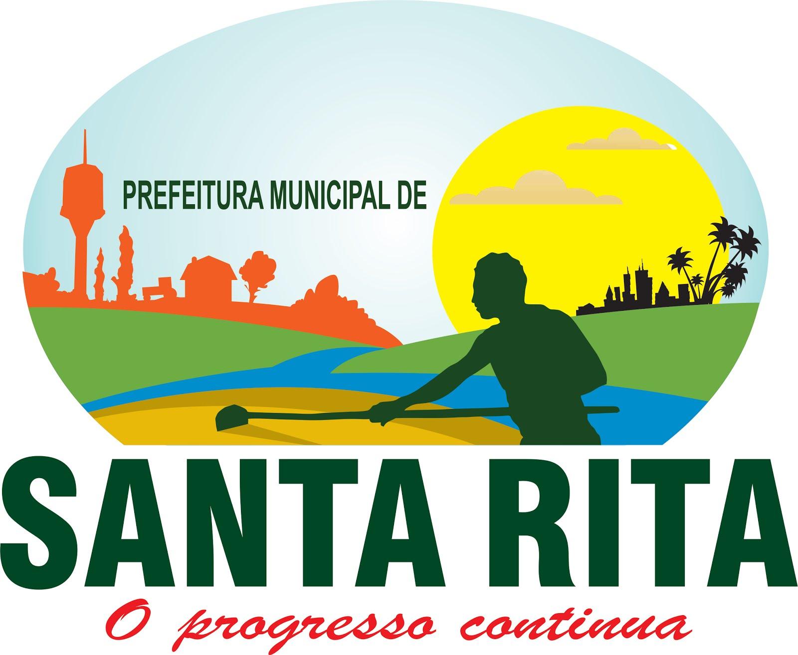 Nova Logo da Prefeitura Municipal de Santa Rita-MA