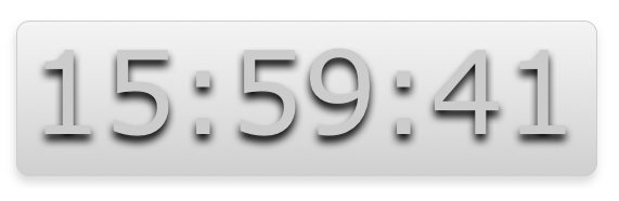 20. Nice Big Clock
