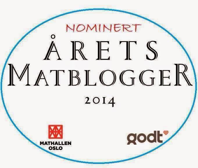 Årets matblogger nominasjon