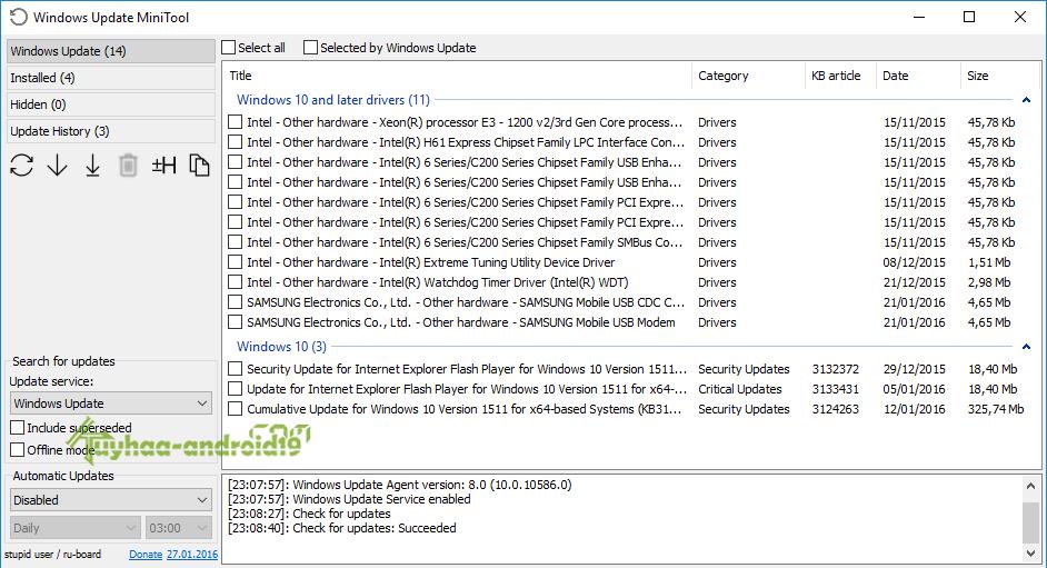 Windows Mini Tools