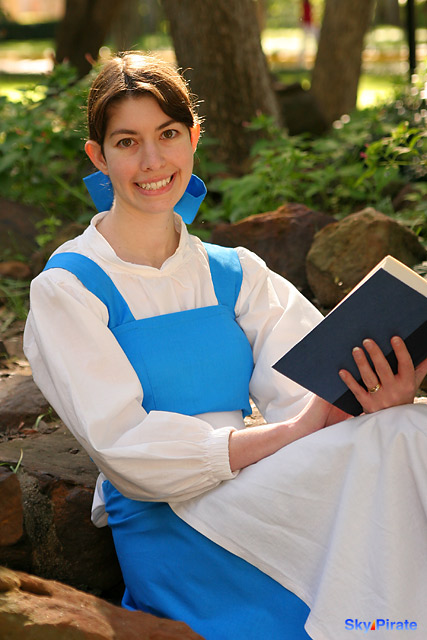 MeowAbout Cosplay and Crafts: Belle Blue Village Dress – Costume ...