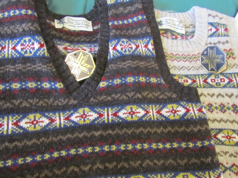 Fair Isle: Fair Isle Knit Where? for Yarn Market News Magazine