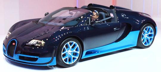 Bugatti Veyron Vitesse 2012