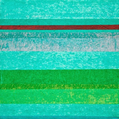 """Traces by Jacqueline Steudler, 6""""x6"""" collage on canvas"""