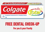 Colgate : Get  Dental Check-Up For Your Family (Free) Only on Colgate India