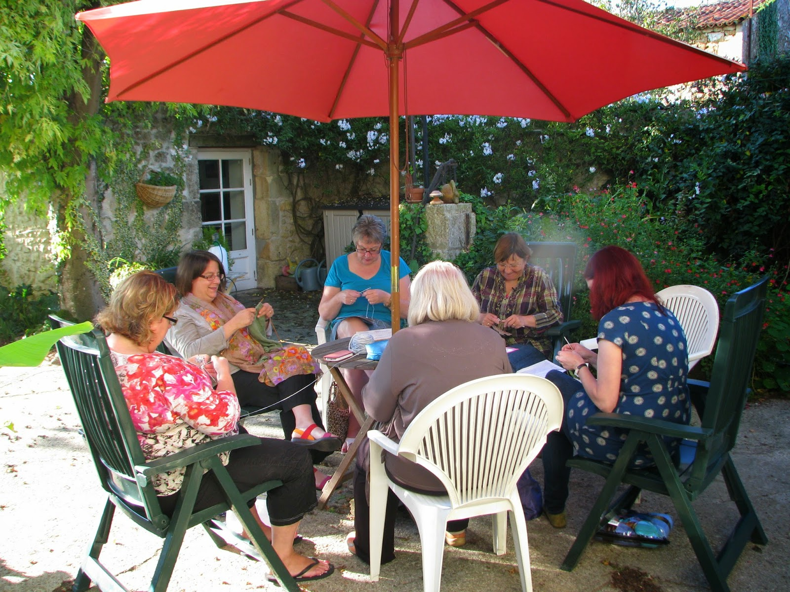 Knitting Holidays In France : Knitting and crochet workshops retreats holidays in