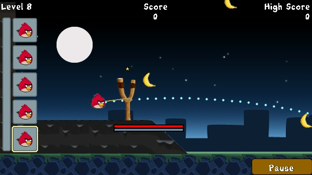 Angry Birds Touch Java