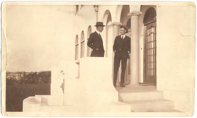 William Samuel Bean Alameda California resident in business suit and hat possibly late 1920s