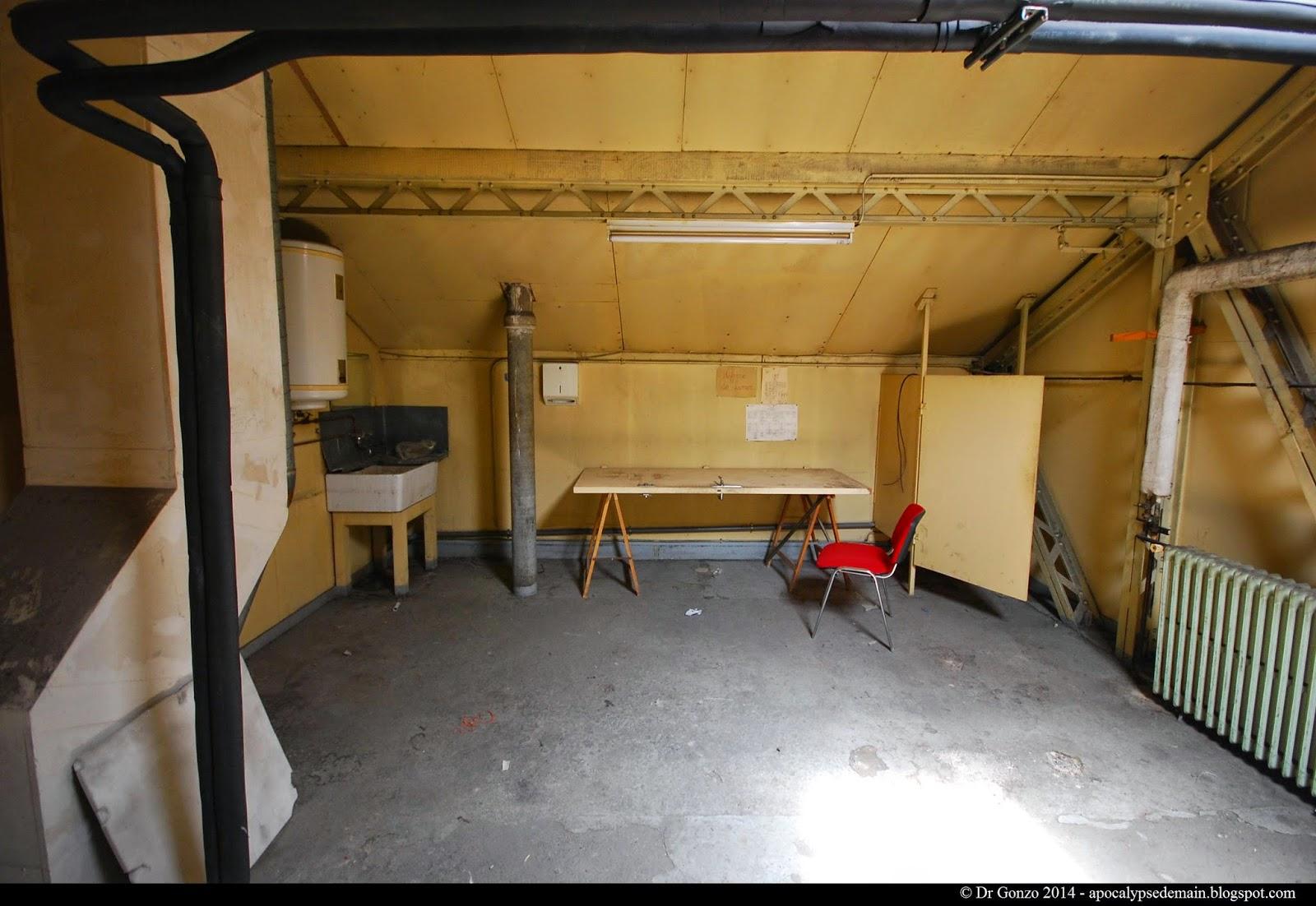 Paris - Gare de Lyon - combles - mansarde - loft - grenier - bureau