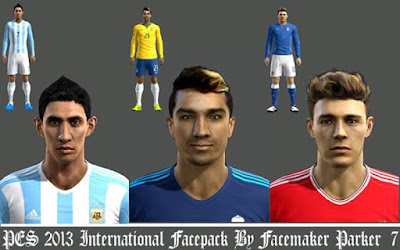 PES 2013 International Facepack By Facemaker Parker_7
