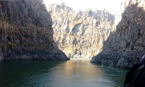 The Zambezi River gorges, Zimbabwe, Zambia