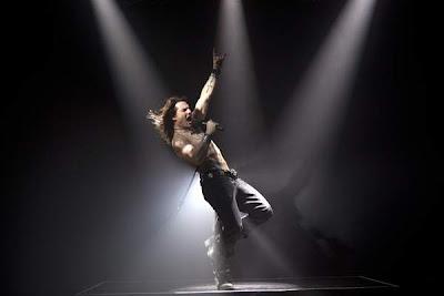 Tom Cruise como estrella de rock en Rock of Ages