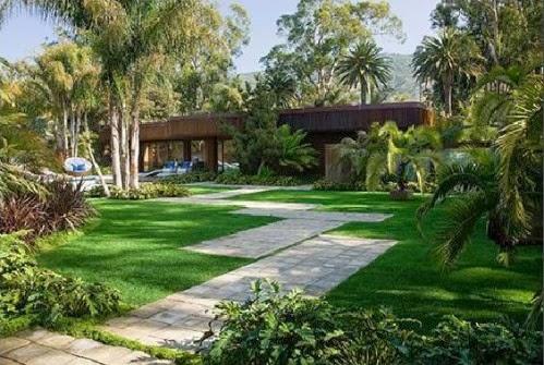 Gambar Taman Rumah Minimalis Modern