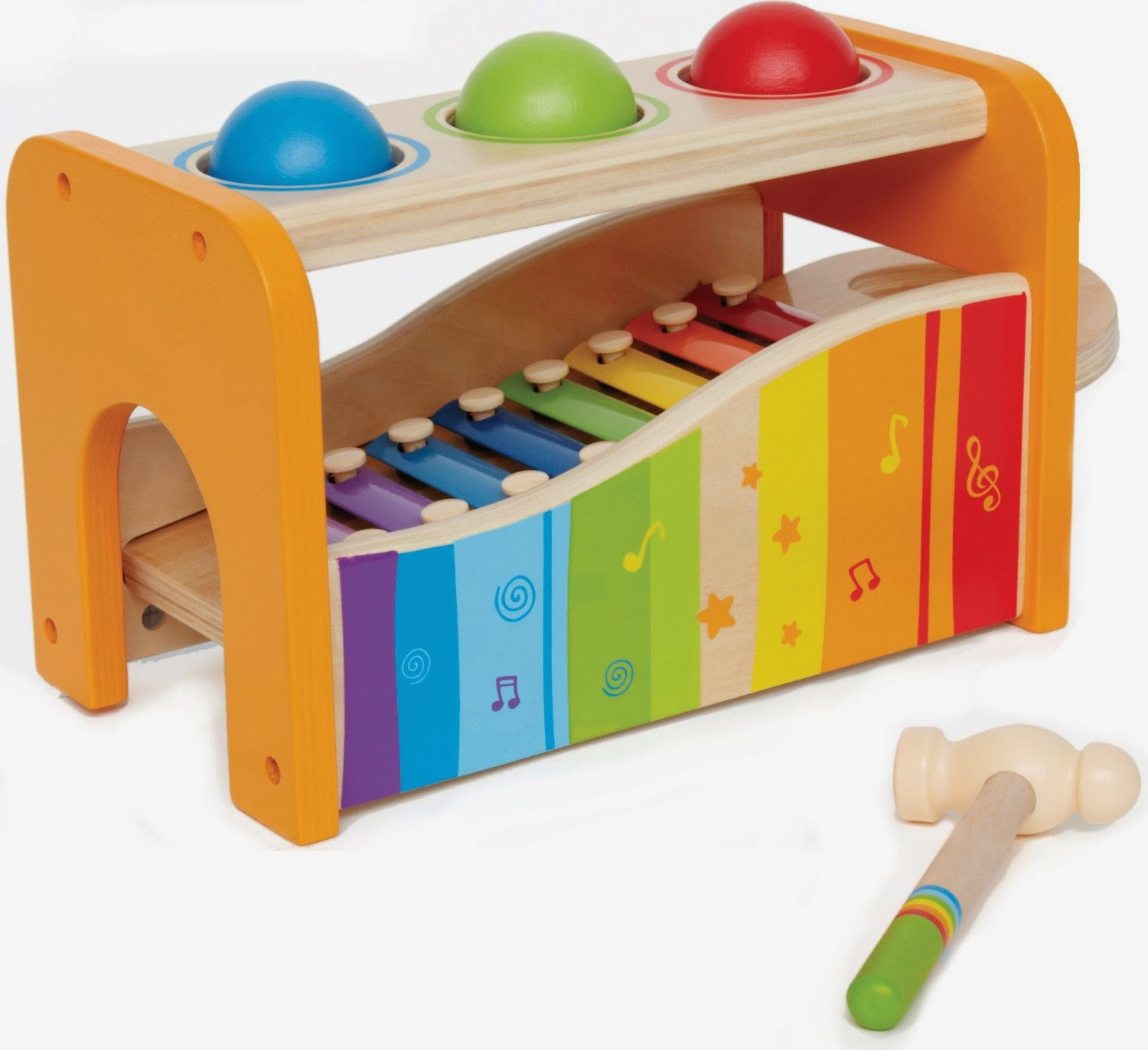 Eco Friendly Baby Toys - Hape Pound Bench