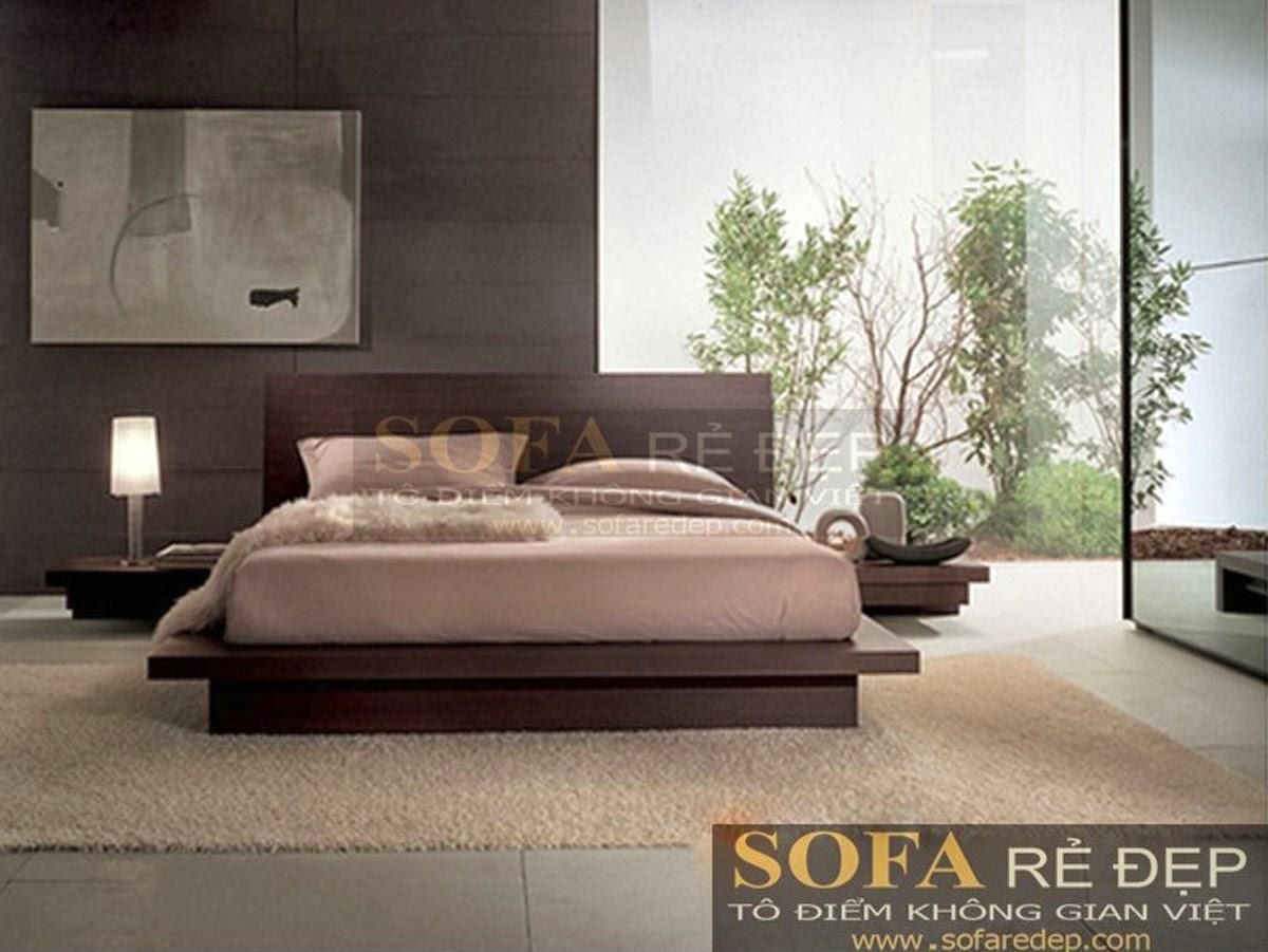 Giường ngủ GN010